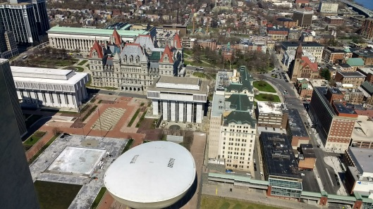 Albany Empire Plaza Observation Deck view