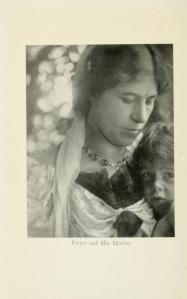 Victor Chapman and mother