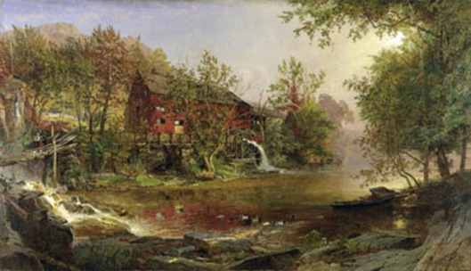 Cropsey The_Old_Mill_1876